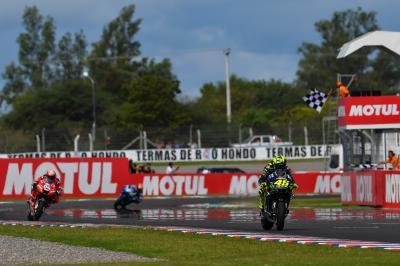 Rossi renoue avec le podium en Argentine !