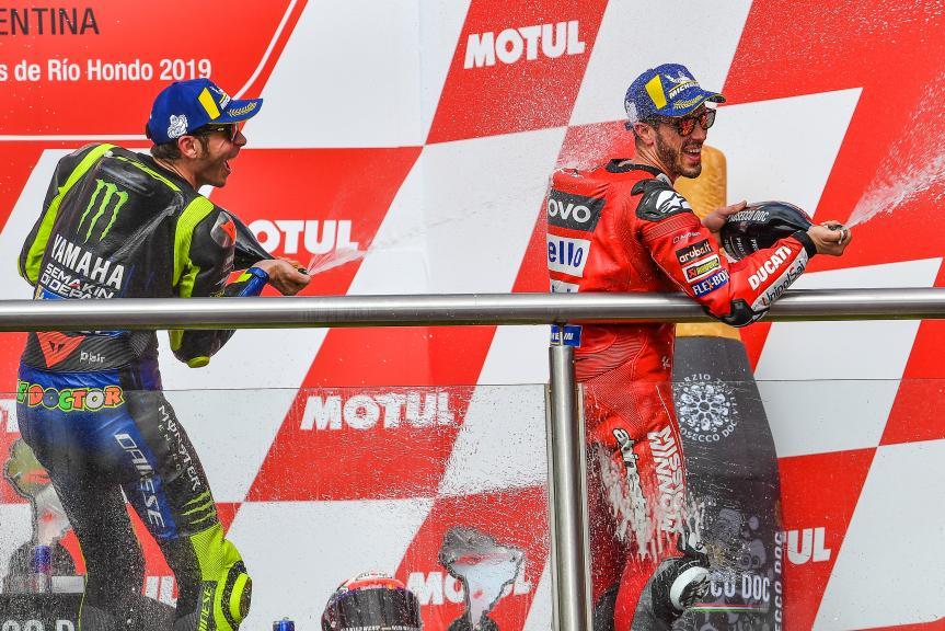 Valentino Rossi, Andrea Dovizioso, Gran Premio Motul de la República Argentina