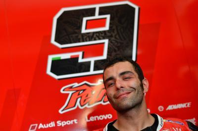 Petrucci torna a sorridere
