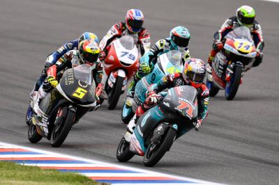 Lotta a 4 in Moto3™ - VIDEO GRATIS