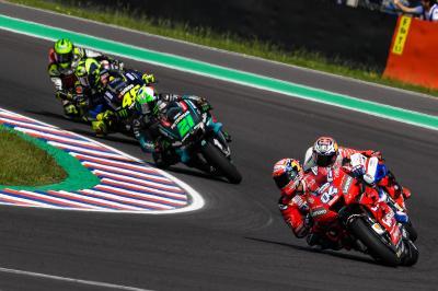 Morbidelli und Rossi: Der Lehrling jagt den Meister