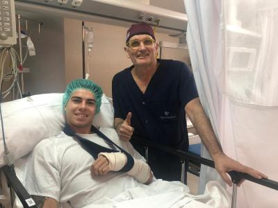 Augusto Fernández sueña con estar en Austin tras ser operado