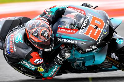 A top ten finish and more lessons learnt for Quartararo