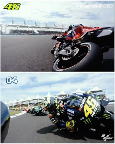 @ValeYellow46 and @AndreaDovizioso went head to head throughout the #ArgentinaGP