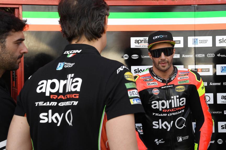 Andrea Iannone, Aprilia Racing Team Gresini, Gran Premio Motul de la República Argentina