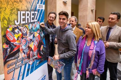 Márquez, Lorenzo y Ramírez, imagen del GP Red Bull de España