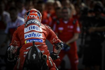 "Dovizioso: ""Podium would be like a win"""