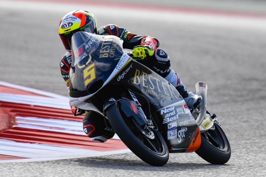 Jaume Masia, Bester Capital Dubai, Red Bull Grand Prix of The Americas