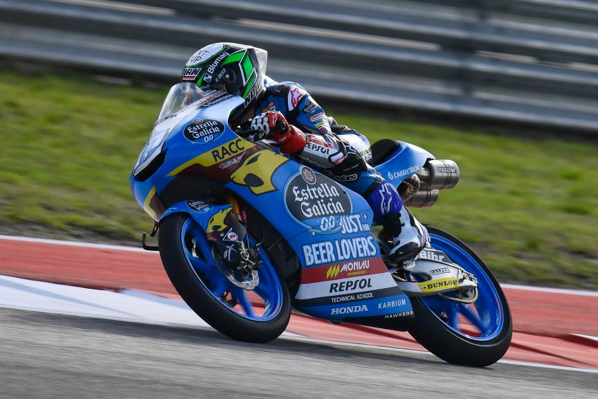 Sergio Garcia, Estrella Galicia 0,0, Red Bull Grand Prix of The Americas