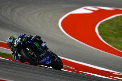 Las Yamaha plantan cara a Márquez en Austin