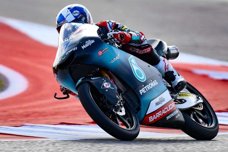 John McPhee, Petronas Sprinta Racing, Red Bull Grand Prix of The Americas
