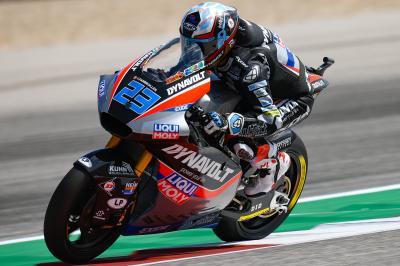 Schrötter y Lüthi dominan la primera sesión de Moto2™