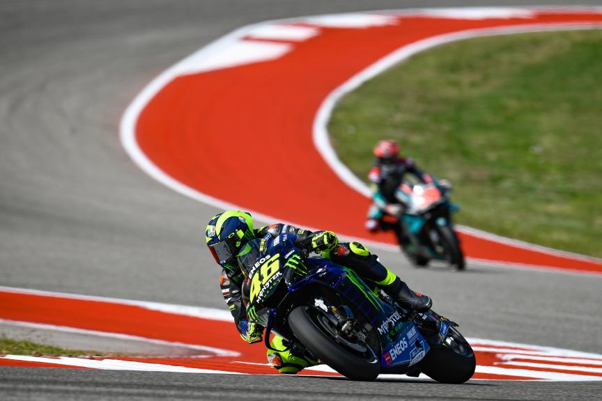 Valentino Rossi, Monster Energy Yamaha Motogp, Red Bull Grand Prix of The Americas