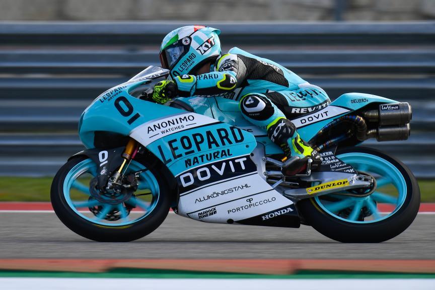 Lorenzo Dalla Porta, Leopard Racing, Red Bull Grand Prix of The Americas
