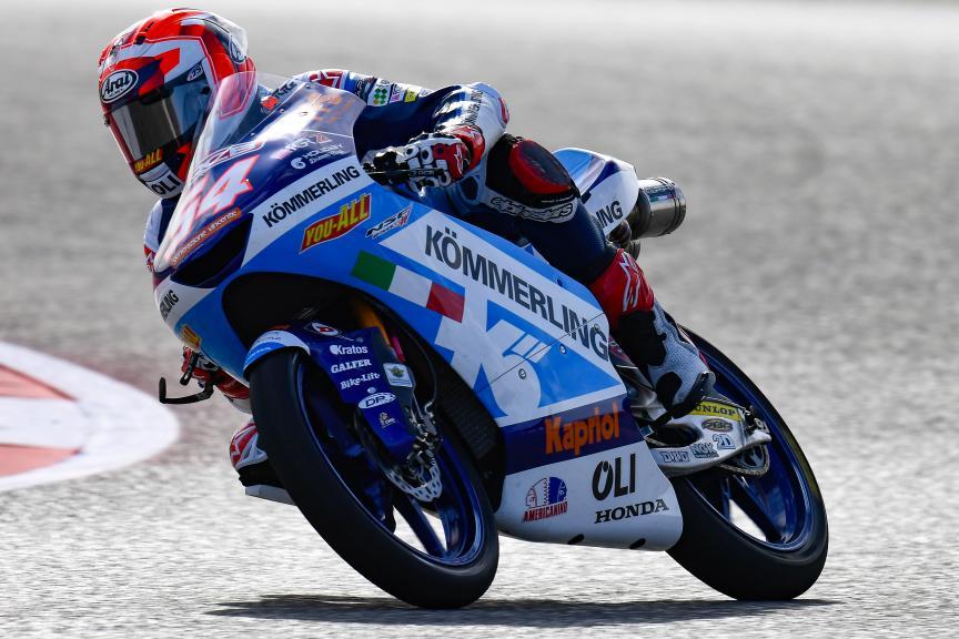Riccardo Rossi, Kőmmerling Gresini Moto3, Red Bull Grand Prix of The Americas