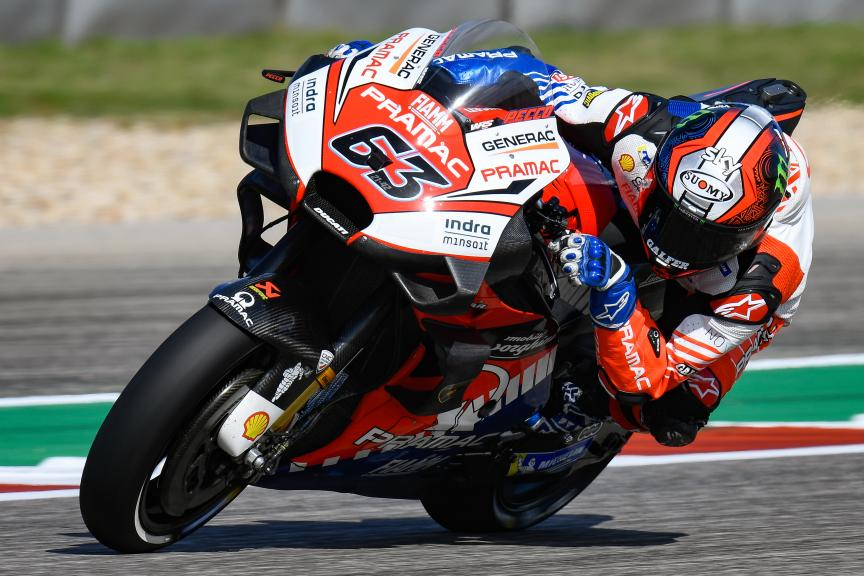 Francesco Bagnaia, PRAMAC RACING, Red Bull Grand Prix of The Americas