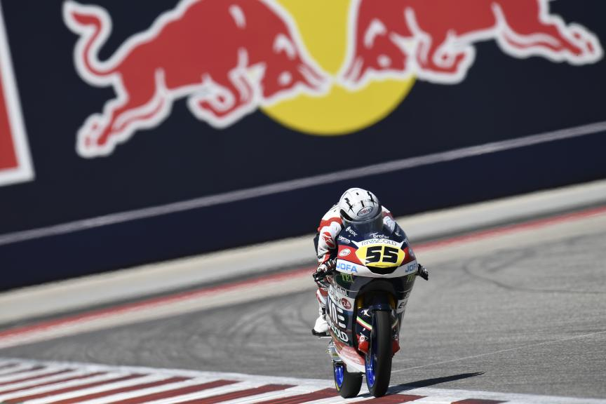 Romano Fenati, Snipers Team, Red Bull Grand Prix of The Americas