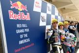 Niccolo Antonelli, Raul Fernandez, Gabriel Rodrigo, Red Bull Grand Prix of The Americas