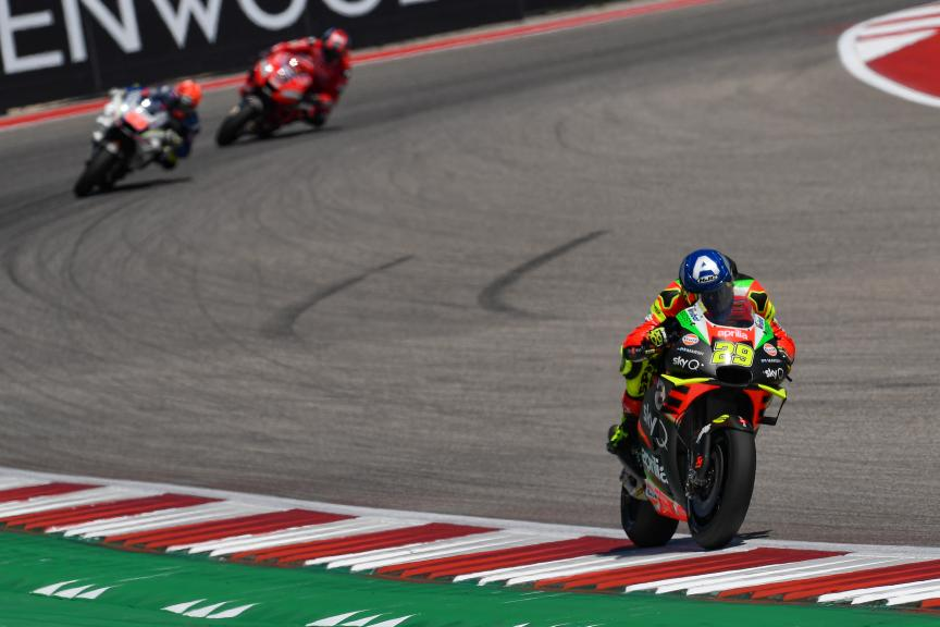 Andrea Iannone, Aprilia Racing Team Gresini, Red Bull Grand Prix of The Americas