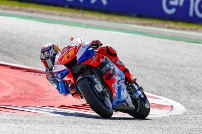 Miller y Dovizioso, cara y cruz de Ducati para la salida