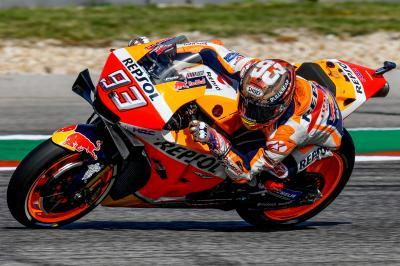 Márquez recupera el control al dominar la FP4 de MotoGP™