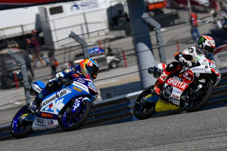 Niccolo Antonelli, Gabriel Rodrigo, Red Bull Grand Prix of The Americas