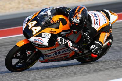 Canet takes COTA control in Moto3™