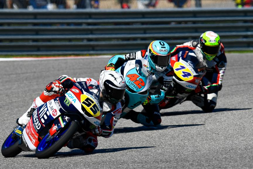 Romano Fenati, Marcos Ramirez, Red Bull Grand Prix of The Americas