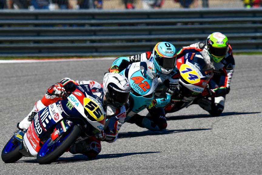 Romano Fenati, Marcos Ramirez, Red Bull Grand Prix of The Americas