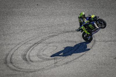 ¿Sacrificó Rossi la victoria en beneficio del campeonato?