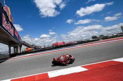 'Dovi' recupera el liderato y Márquez cae al cuarto puesto