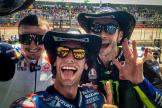 Alex Rins, Valentino Rossi, Jack Miller, Red Bull Grand Prix of The Americas