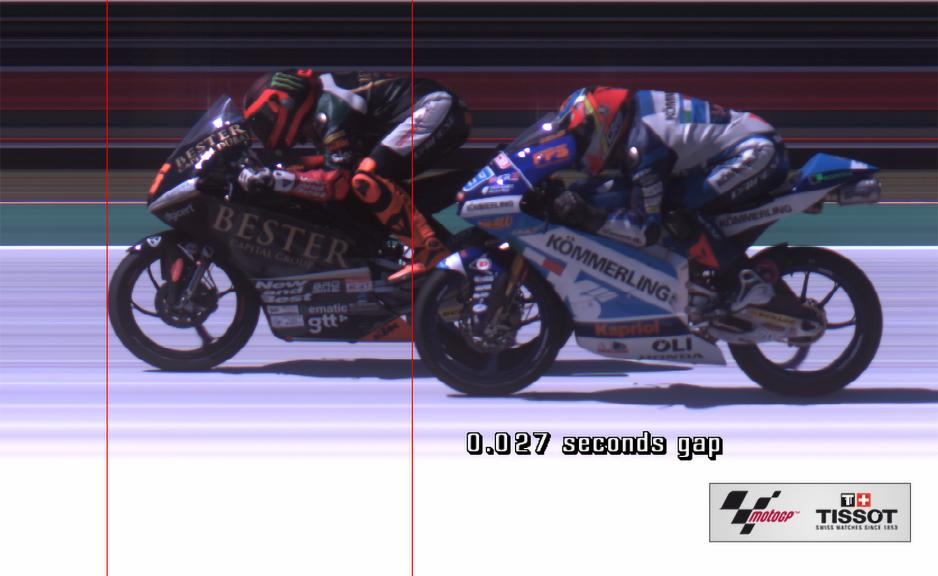Photofinish, Moto3, Jaume Masia, Gabriel Rodrigo, Red Bull Grand Prix of The Americas