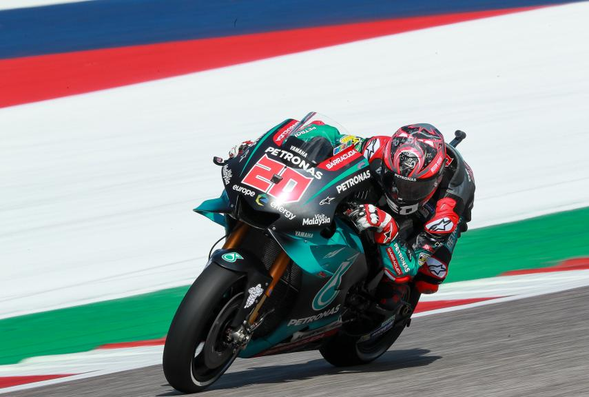 Fabio Quartararo, Petronas Yamaha SRT, Red Bull Grand Prix of The Americas