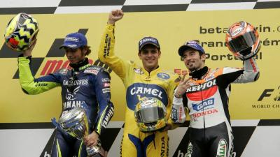 On this day: Barros defeats Rossi and Biaggi