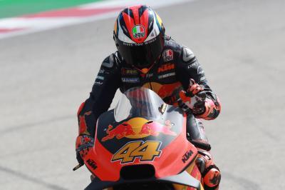 Pol, sin límites tras su mejor resultado en seco con KTM
