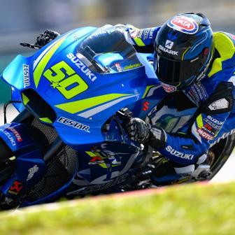 Aprilia, Ducati, KTM, Suzuki und Yamaha gehen Testen