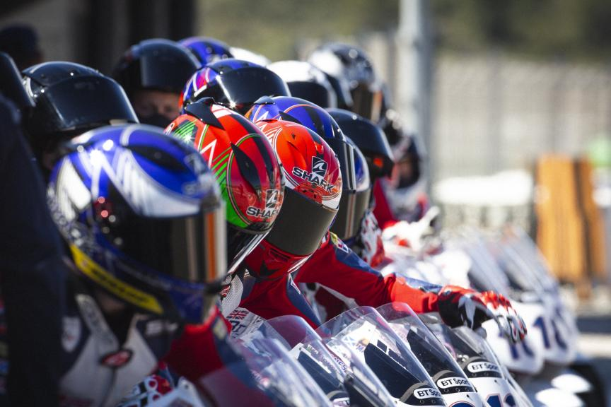 British Talent Cup on Silverstone