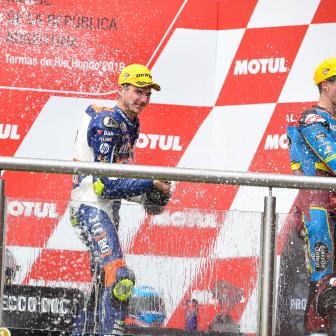 """Rossi zur Triumph-Ära in der Moto2™: """"etwas größer, etwas sc"""