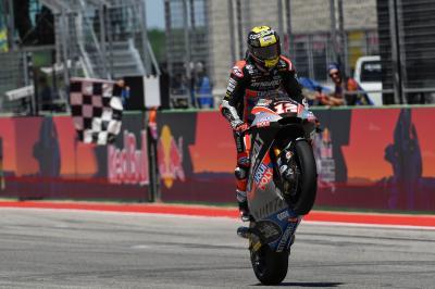 Lüthi amortiza al máximo su exigente paso por MotoGP™