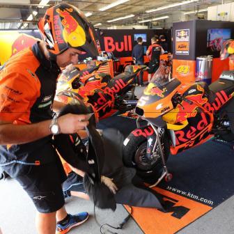KTM testet in Le Mans