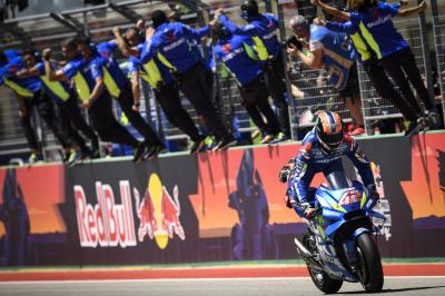 Schwantz heaps praise on Suzuki and Rins
