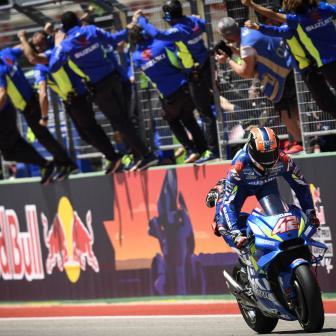 Schwantz lobt Suzuki und Rins