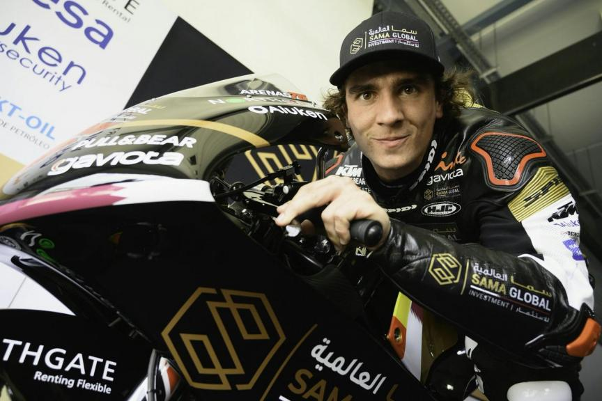 Albert Arenas, Sama Qatar Angel Nieto Team