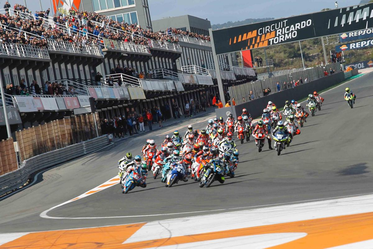 FIM CEV Repsol season picks up speed in Valencia