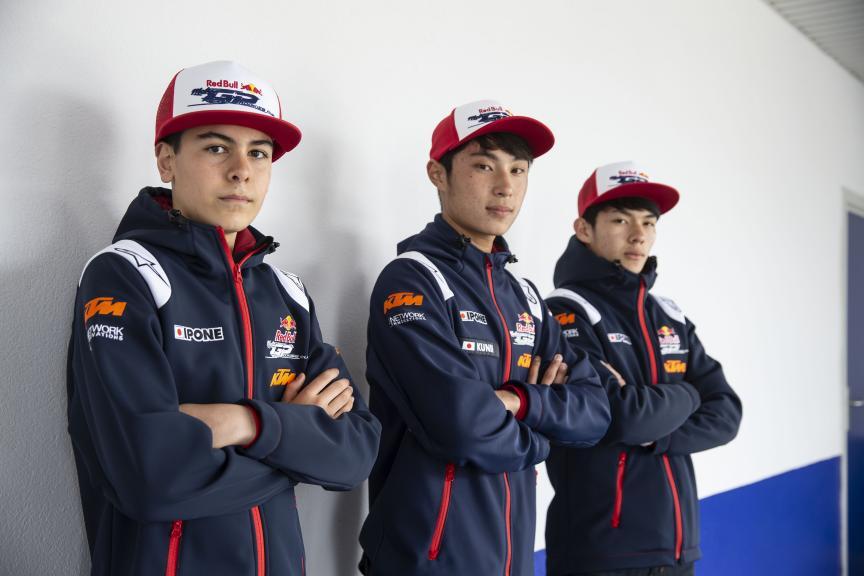 Daijiro Sako, Yuki Kunii, Haruki Noguchi