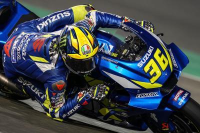 """Mir: """"Rossi es el que más me impresiona en la pista"""""""