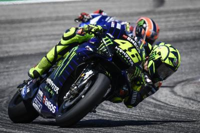 Rossi, con el tercer podio consecutivo en el punto de mira