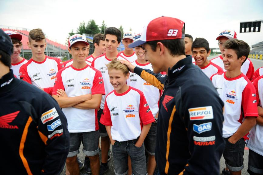 Marc Marquez, Jaume Masia, Red Bull Rookies Cup, Brno 2014