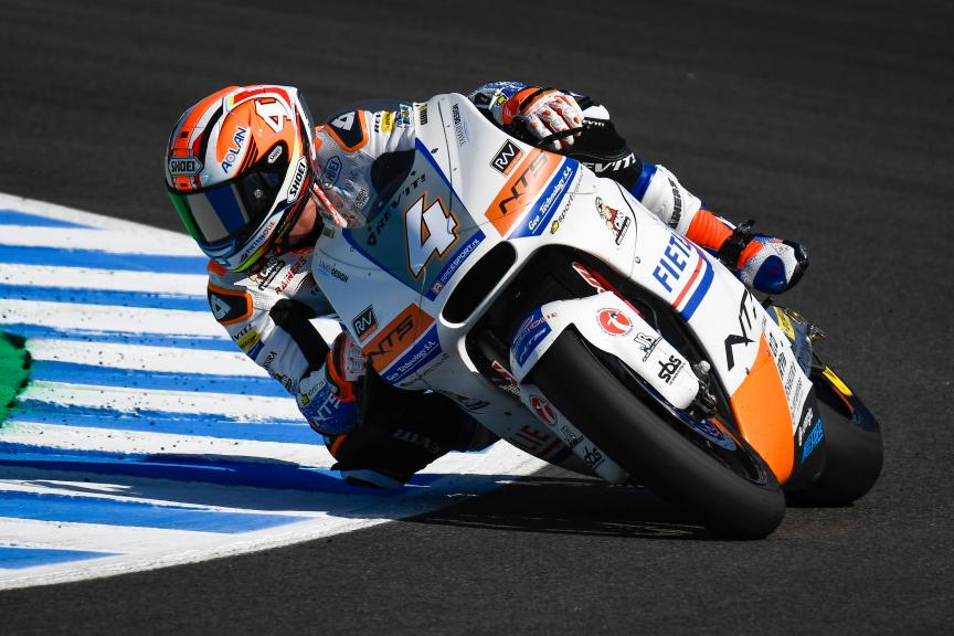 Steven Odendaal, NTS RW Racing GP, Gran Premio Red Bull de España